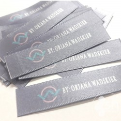 Full Color Satin Labels 1,5cm.